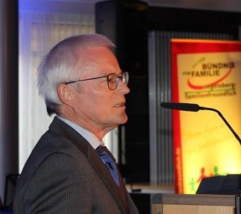 Hans Dieter Herget, Sprecher des Bündnisses für Familie im Vogelsbergkreis