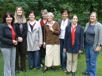 Der Vorstand des Kinderschutzbundes in Lauterbach
