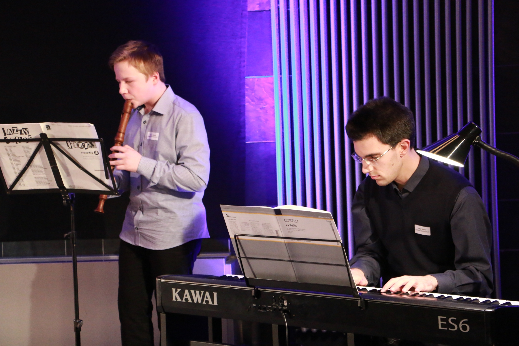 Musikalische Gestaltung des Abends durch Schüler der Musikschule Alsfeld.