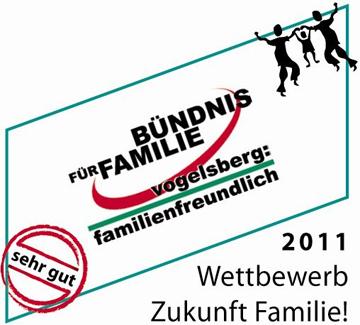 Bündnis für Familie Wettbewerb 2011 Zukunft Familie! Logo
