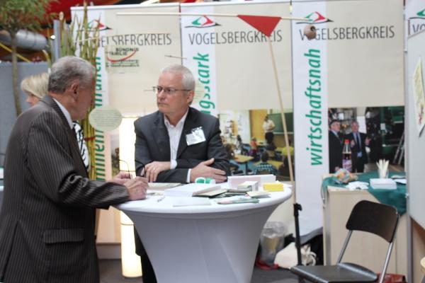 Hans Dieter Herget, Sprecher des Vogelsberger Familienbündnisses, im Gespräch.